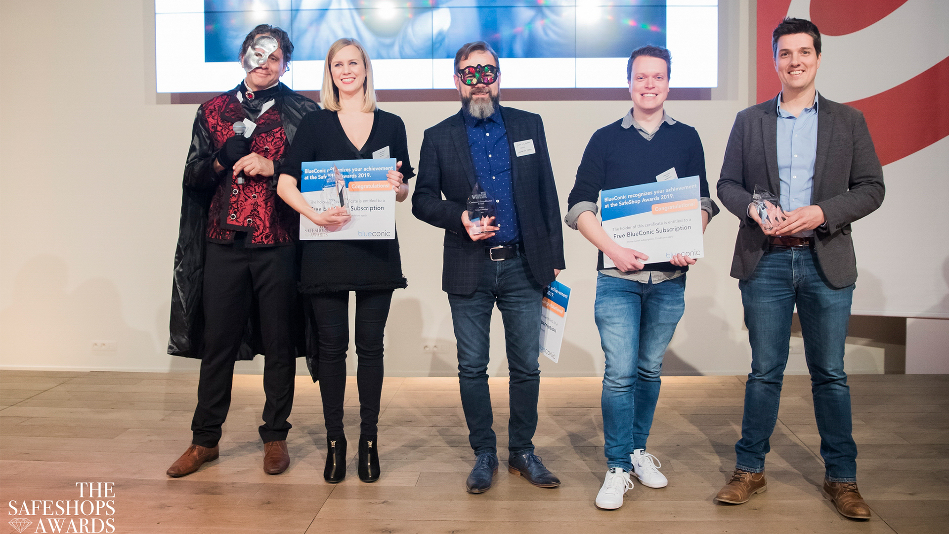 Hoera, bekroond op de SafeShops Awards